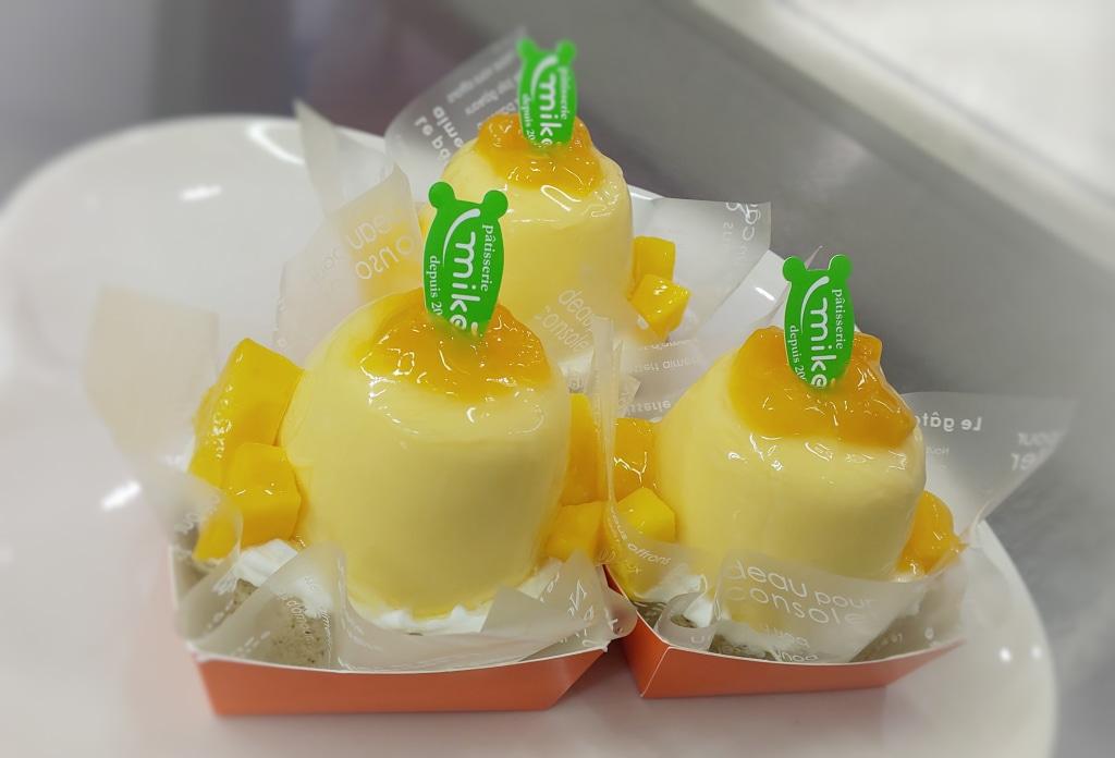 マンゴーのお菓子で笑顔に   第2波は怖いですよ気をつけましょう...