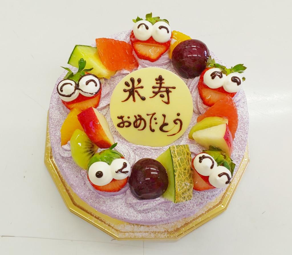 いろんな味のクリームで デコレーションケーキお創りできます...