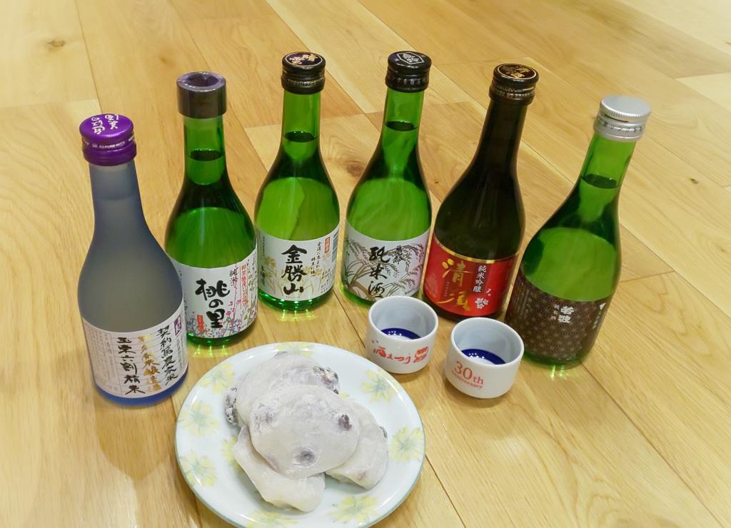 日本酒と和菓子 オンライン酒まつりでカンパイ!ラジヲ...