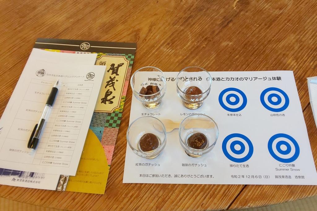 日本酒とチョコレートのマリアージュ 人の繋がりはとっても大切...