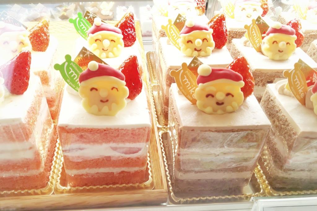 分散クリスマス? 土日にクリスマスケーキのご予約も多いです...