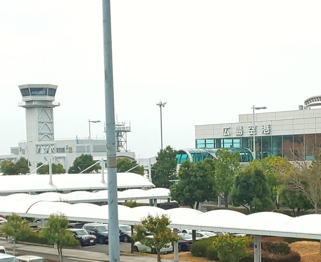 広島空港は今 撤収作業をされている販売店が多かったです...