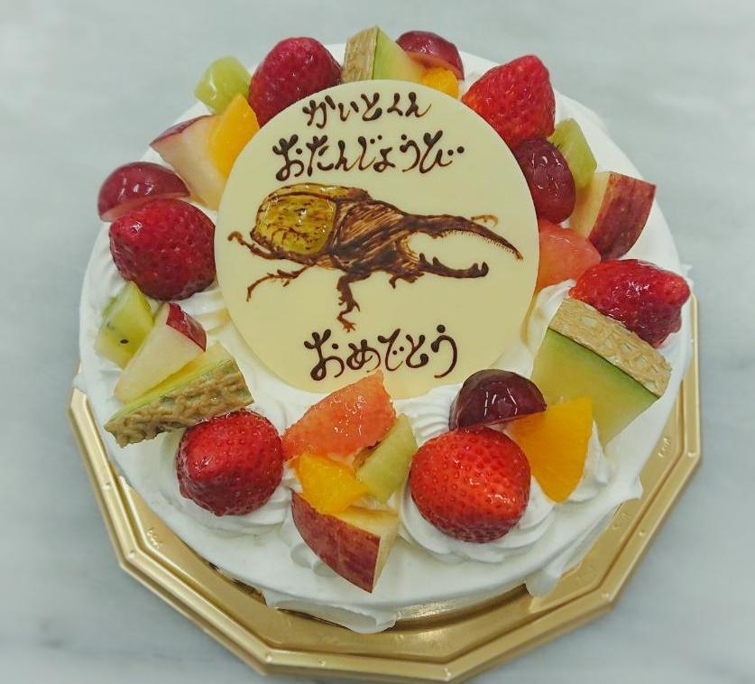 第4波のコロナ状況でも デコレーションケーキは人気です...