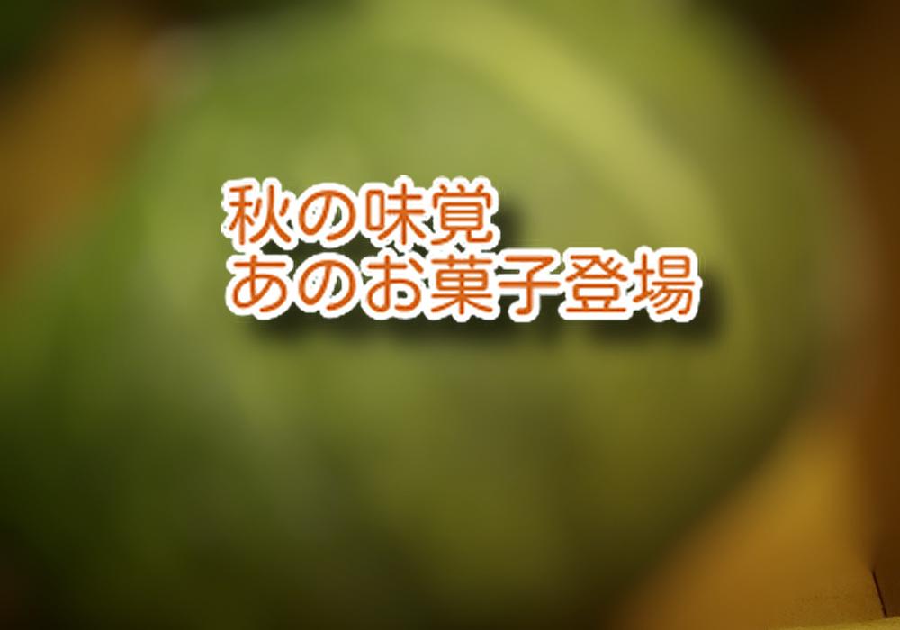 女性が大好きなあの【三大秋の味覚】の中から、あのお菓子が今日仲間入り!...